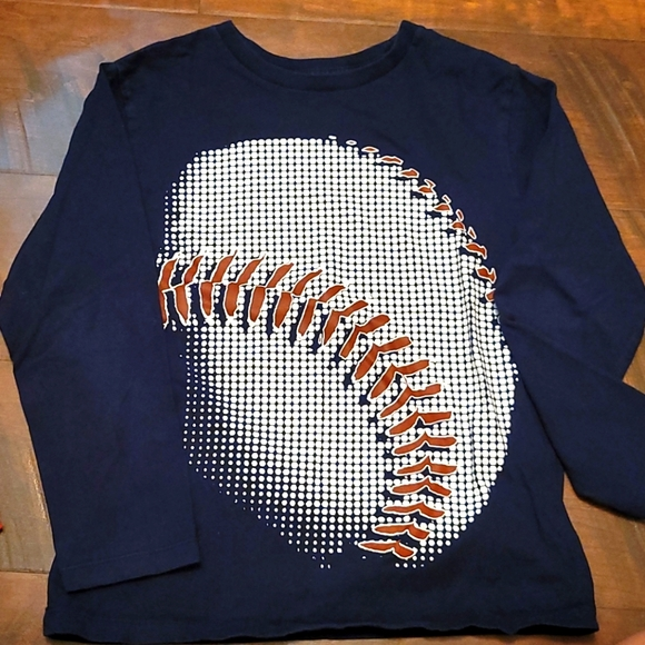 FOUR baseball shirts (size 7/8)
